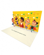 Send Birthday eCard and Online Greeting Card to your Friends and Family. Kids Party - Birthday eCard.