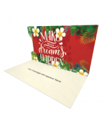 Send Inspiration eCard and Online Greeting Card to your Friends and Family. Make Your Dreams Happen - Inspiration eCard