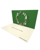 Moominvalley's Party Wreath Moomin Official eCard and online greeting card for your Friends and Family