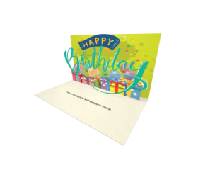 Send Birthday eCard and Online Greeting Card to your Friends and Family. Happy Birthday Lettering - Free eCard.