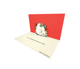 Send Moomin eCards and Online Greeting Cards to your Friends and Family. Moomintroll and Snorkmaiden Looking In The Eyes- Moomin Official eCard.
