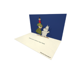 Snufkin Moomintroll and Little My Moomin Official eCard and online greeting cards for your Friends and Family. Send Beautiful Moomin eCards