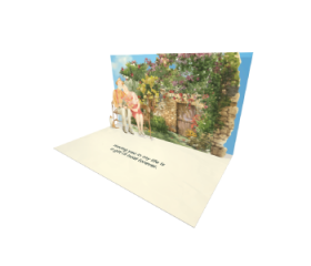 Send Seniors eCard and Online Greeting Card to your Friends and Family. Grandparents Couple Sitting on a Bench - Seniors eCard.