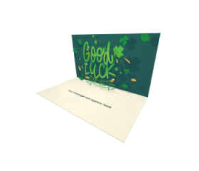 Send Saint Patrick's Day eCard and Online Greeting Card to your Friends and Family. St Patrick's Day Good Luck eCard.