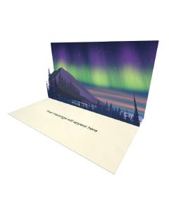 Northern Lights Landscape eCard