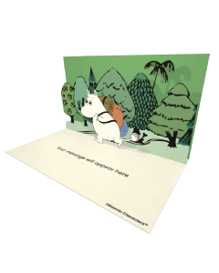 Moomintroll Trekking Moomin Official eCard and online greeting card for your Friends and Family