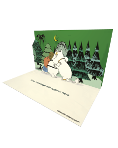 Moomintroll Hugging Snorkmaiden Moomin Official eCard and online greeting card for your Friends and Family