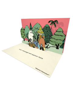Moomintroll and Snufkin Camping Moomin Official eCard and online greeting card for your Friends and Family