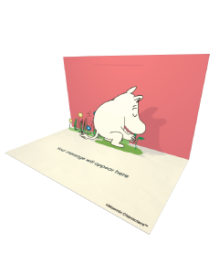 Moomintroll Planting a Tree Moomin Official eCard and online greeting card for your Friends and Family