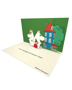 Snorkmaiden Moomintroll and Little My Moomin Official eCard and online greeting cards for your Friends and Family. Send Beautiful Moomin eCards