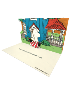 Send Moomin eCards and Online Greeting Cards to your Friends and Family. Moominmamma With a Rake and a Watering Can - Moomin Official eCard.