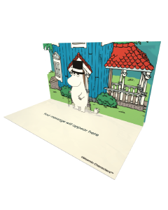 Send Moomin eCards and Online Greeting Cards to your Friends and Family. Moominpappa Standing by the Moominhouse - Moomin Official eCard.