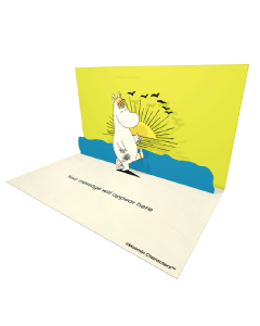 Send Moomin eCards and Online Greeting Cards to your Friends and Family. Snorkmaiden Marching - Moomin Official eCard.