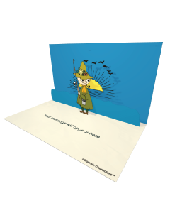 Send Moomin eCards and Online Greeting Cards to your Friends and Family. Snufkin With a Fishing Rod - Moomin Official eCard.