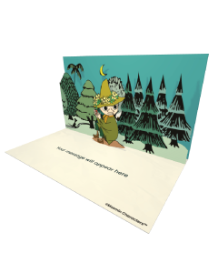 Send Moomin eCards and Online Greeting Cards to your Friends and Family. Snufkin with Harmonica - Moomin Official eCard.