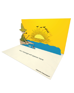 Send Moomin eCards and Online Greeting Cards to your Friends and Family. Snufkin Fishing - Moomin Official eCard.