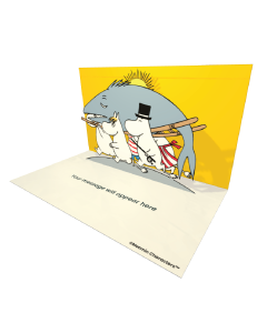 Big Fish Moomin Official eCard and online greeting card. Send Beautiful Moomin ecards to your Friends and Family.