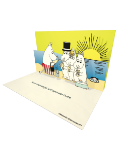 Moomins Drinking Moomin Official eCard and online greeting card. Send Beautiful Moomin ecards to your Friends and Family.