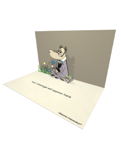 Send Moomin eCards and Online Greeting Cards to your Friends and Family. Hemulen - Moomin Official eCard.