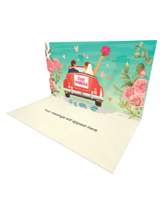Send Engagement and Marriage eCard and Online Greeting Card to your Friends and Family. Just Married eCard - Online Greeting Card.