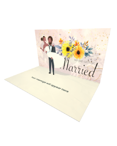 Send Engagement and Marriage eCard and Online Greeting Card to your Friends and Family. Groom Holding Bride eCard - Online Greeting Card.