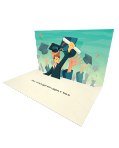 Send Graduation eCard and Online Greeting Card to your Friends and Family. Happy Student Graduation eCard - Online Greeting Card.