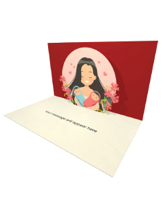 Send happy Mother eCard and Online Greeting Card to your Friends and Family. Happy Mother Holding Twin Babies eCard.
