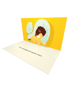 Send Mother's Day eCard and Online Greeting Card to your Friends and Family. Mother Holding a Baby - Mother's Day eCard.