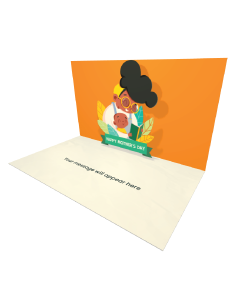 Send Mother's Day eCard and Online Greeting Card to your Friends and Family. Woman Reading a Book to a Child - Happy Mother's Day eCard.