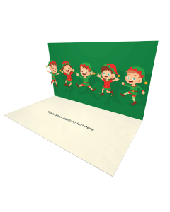 3D Happy Kids eCard and electronic greeting card