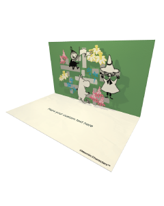 Hooray Characters Badge Moomin Official eCard and online greeting card for your Friends and Family