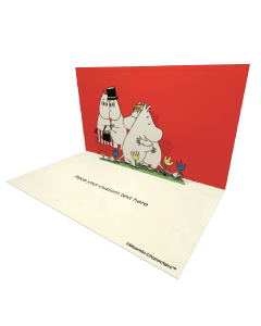 Snorkmaiden hugging Moomintroll Moomin Official eCard and online greeting card. Send Beautiful Moomin ecards to your Friends and Family.