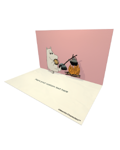 Moomintroll Bonfiring Moomin Official eCard and online greeting card for your Friends and Family