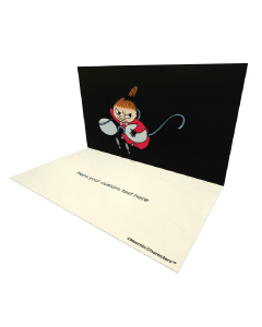 Little My with Glasses Moomin Official eCard and online greeting card for your Friends and Family