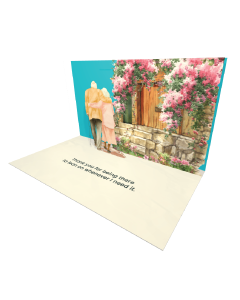 Send Seniors eCard and Online Greeting Card to your Friends and Family. Grandparents Couple Walking in a Park - Seniors eCard.
