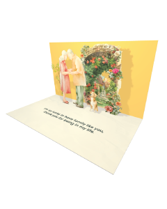 Send Seniors eCard and Online Greeting Card to your Friends and Family. Seniors Couple with a Dog - Seniors eCard.