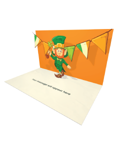 Send Saint Patrick's Day eCard and Online Greeting Card to your Friends and Family. St Patrick's Day Celebration Party Bunting Flags eCard.