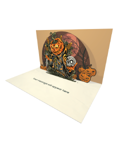 Halloween eCard with Zombies Growling Sound