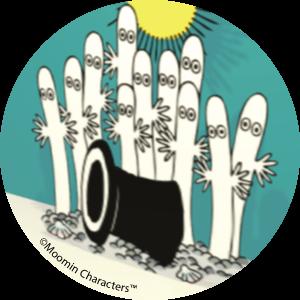 Hattifatteners - Moomin ecards
