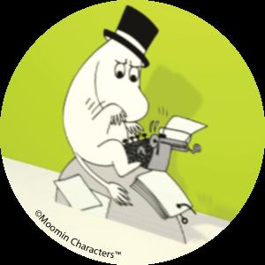 Moominpappa - Moomin ecards