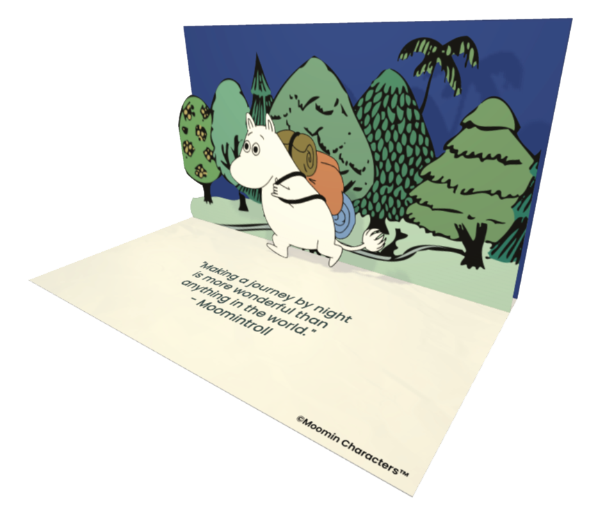 Moomintroll Official eCards