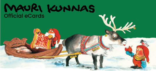 The Santa Claus by Mauri Kunnas Official eCards