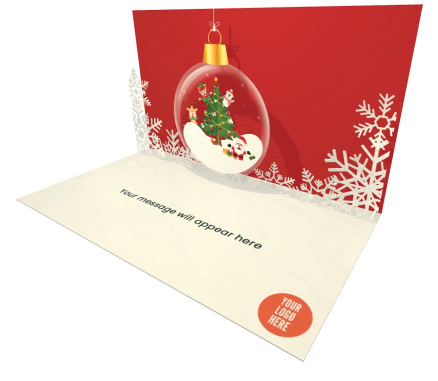 Christmas Digital Greeting Card for Business