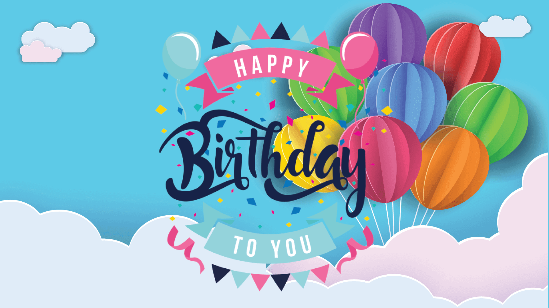 Birthday ecards and online greeting cards