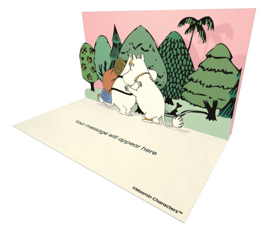 Moomin ecard and electronic greeting card